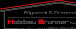 Holzbau Brunner KG - Logo